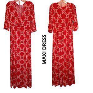 NIKKI POULOS DRESS Maxi Medium
